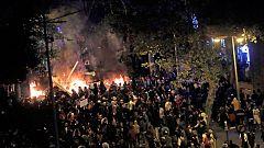 Catorce personas siguen hospitalizadas por los disturbios en Cataluña