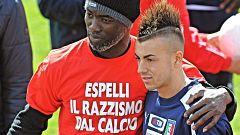 Italia no ataja el problema del racismo en el fútbol
