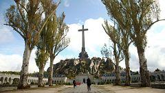 Entra en el Valle de los Caídos maquinaria para la exhumación de Franco