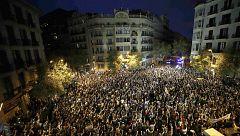 Se cumple una semana de protestas pacíficas, movilizaciones y disturbios contra la sentencia del 'procés' en Cataluña