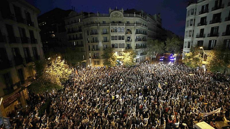 Una semana de protestas pacíficas, movilizaciones y disturbios contra la sentencia del 'procés' en Cataluña
