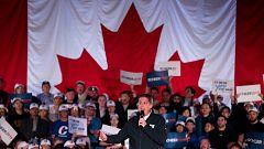 Liberales y conservadores llegan empatados a las elecciones en Canadá