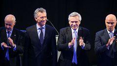 Macri y Fernández se enzarzan en un debate electoral a siete días de las elecciones argentinas