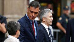 Sánchez visita la Jefatura Superior de Policía de Barcelona