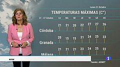 El tiempo en Andalucía - 21/10/2019