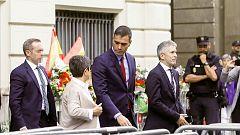 Sánchez finzaliza su viaje Barcelona sin ver a Torra