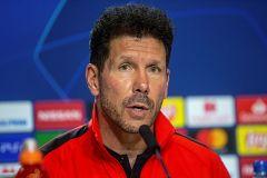 """Simeone: """"Tenemos que hacer un partido importante ante el Leverkusen"""""""