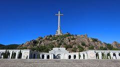 El ataúd de Franco saldrá de la basílica del Valle de los Caídos a hombros de sus familiares