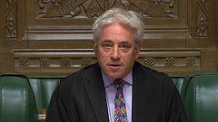 Bercow impide la votación decisiva del acuerdo del 'Brexit'