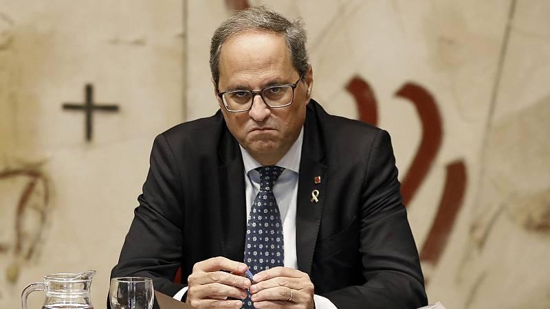 """Torra: """"Estaremos siempre al lado de la defensa del derecho de autodeterminación en Cataluña"""""""