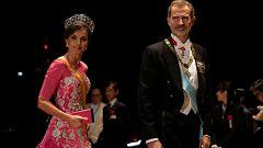 Corazón - Doña Letizia deslumbra en la entronización del emperador de Japón