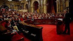 El independentismo reta al Constitucional con una nueva resolución en el Parlament que habla de autodeterminación