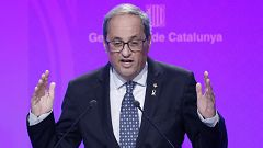 Cs pide a Sánchez el cese de Torra y el PP le exige que recurra la nueva resolución ante el Constitucional