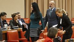 Bronca en el Congreso: Batet expulsa a la diputada de Vox Macarena Olena