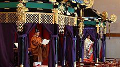 Naruhito es proclamado emperador de Japón en una ceremonia oficial