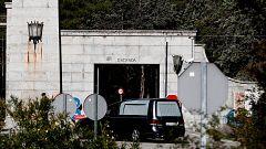 Ensayan la exhumación de Franco en el Valle de los Caídos a dos días de su traslado