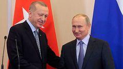 Putin y Erdogan acuerdan la creación de una zona de seguridad en el noreste de Siria