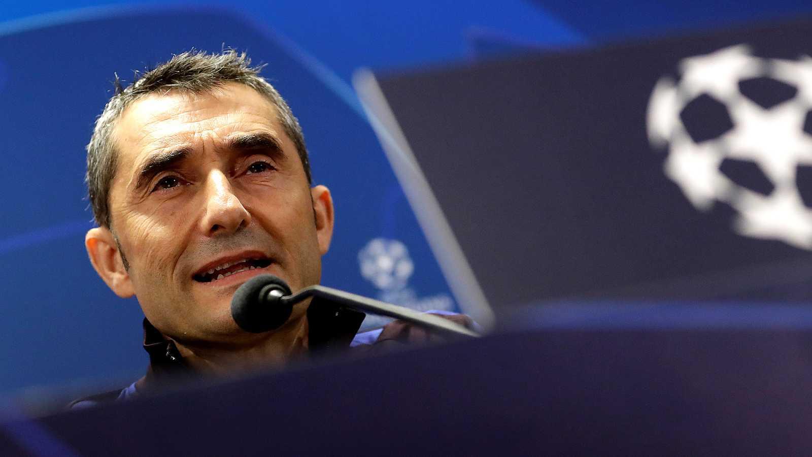 El entrenador del FC Barcelona, Ernesto Valverde, ha opinado que se debería disputar el Barça-Madrid igual que se disputó el Espanyol-Villarreal el fin de semana pasado.