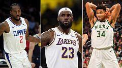 Arranca la NBA más abierta de los últimos tiempos