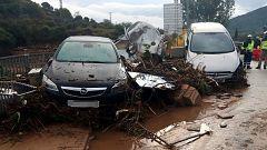 Un muerto y dos desaparecidos en Cataluña por el temporal de lluvia