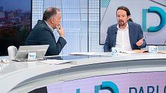 Iglesias, partidario de retrasar la exhumación de Franco hasta después del 10N y de indultar a los líderes del 'procés'