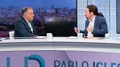 """Iglesias cree que """"no se debería hacer electoralismo"""" con la exhumación de Franco"""