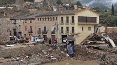 Un muerto por el temporal de lluvia en Cataluña