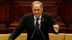 """Torra reprocha a Sánchez """"dejadez de funciones"""" y le pide """"visión de Estado"""" sobre Cataluña"""
