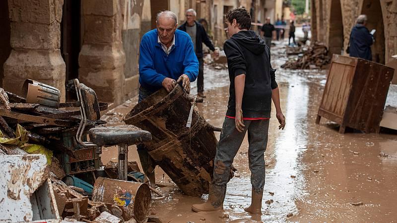 """Temporal en Cataluña: """"Yo me cogí a un árbol y sálvese quien pueda"""""""