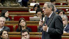 Torra cuestiona a los Mossos y pide que se investigue su actuación durante las protestas en Cataluña