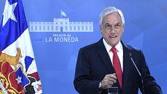 Piñera anuncia un paquete de medidas sociales para frenar las protestas