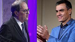 Las patronales exigen a Sánchez y Torra llegar a acuerdos para mantener la paz social en Cataluña