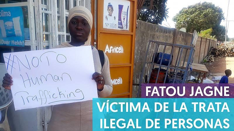 Fatou, víctima de la trata ilegal de personas