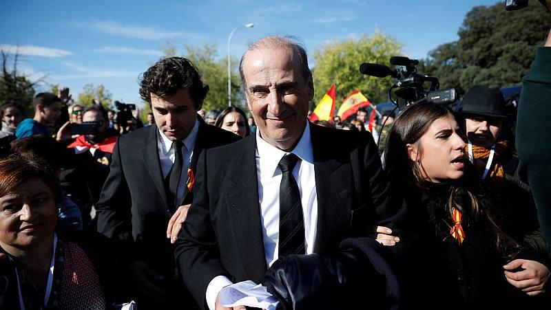"""Francis Franco: """"Simplemente hemos acompañado a mi abuelo en estos momentos"""""""