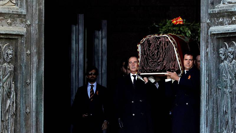 Momentos clave de la exhumación de Franco en el Valle de los Caídos