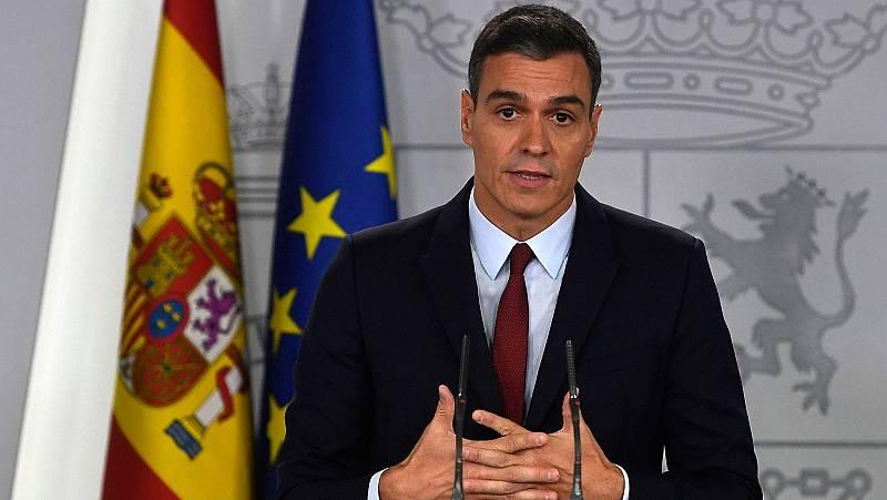 Sánchez afirma que la exhumación de Franco pone fin a una anomalía democrática