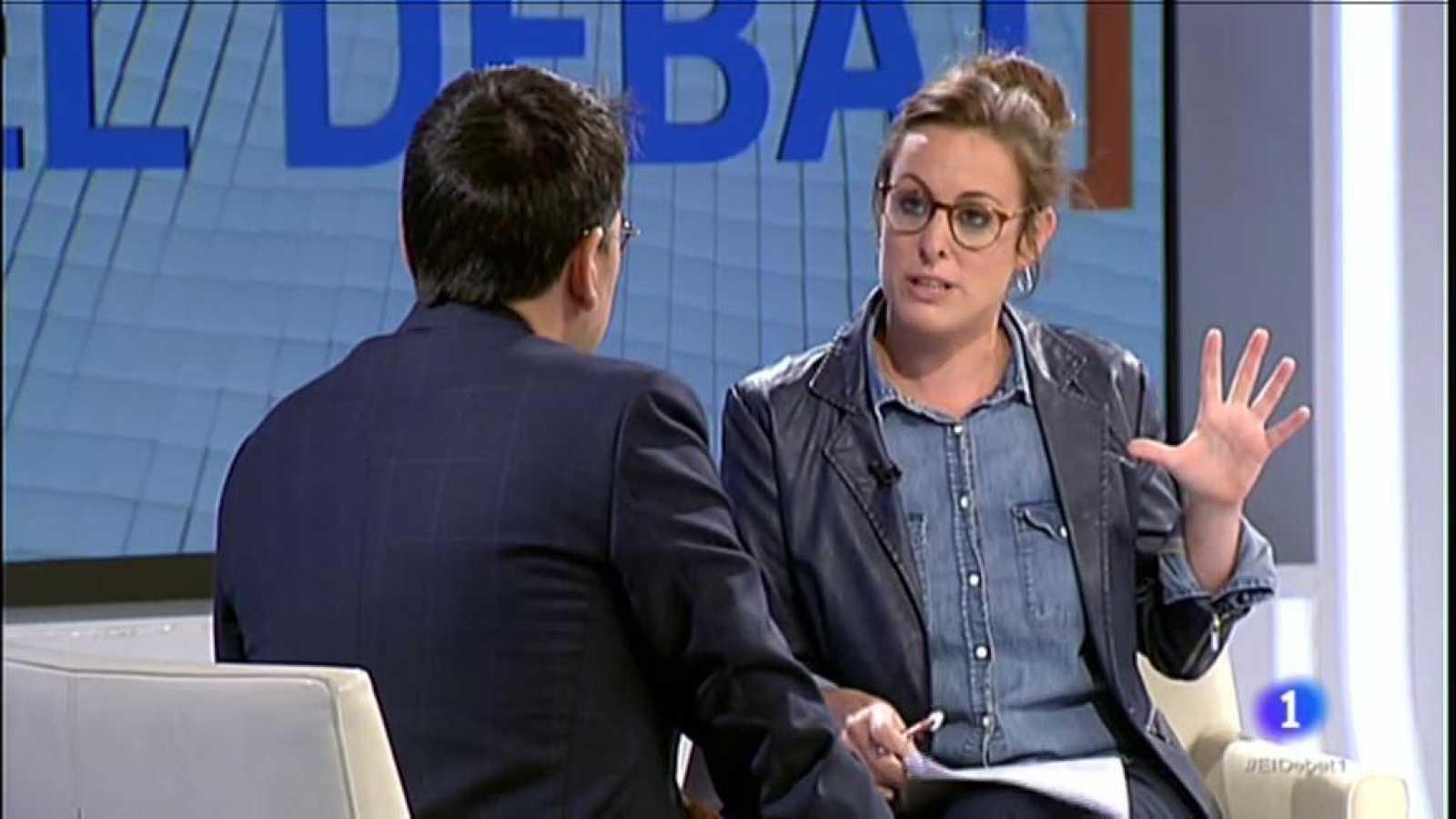 El Debat de La 1 entrevista Mireia Vehí, candidata a les eleccions generals per la CUP