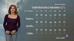 El tiempo en Andalucía - 25/10/19