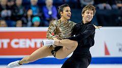 Patinaje sobre hielo | Sara Hurtado y Kirill Khaliavin, quintos en el programa corto de danza en Canadá