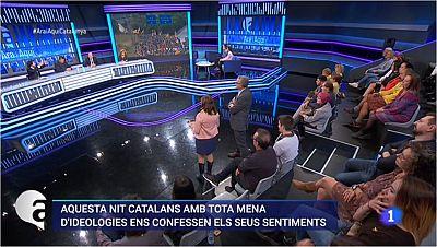 'Ara i Aquí' se centra el sentiment dels catalans.
