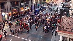"""Los CDR anuncian una convocatoria para """"devolverles las pelotas"""" de goma a la Policía"""