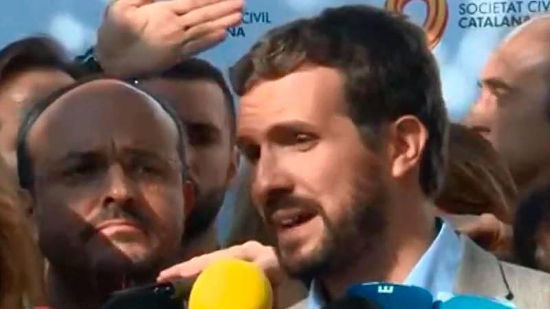 """Casado pide al PSOE que """"rompa cualquier acuerdo con los independentistas"""""""