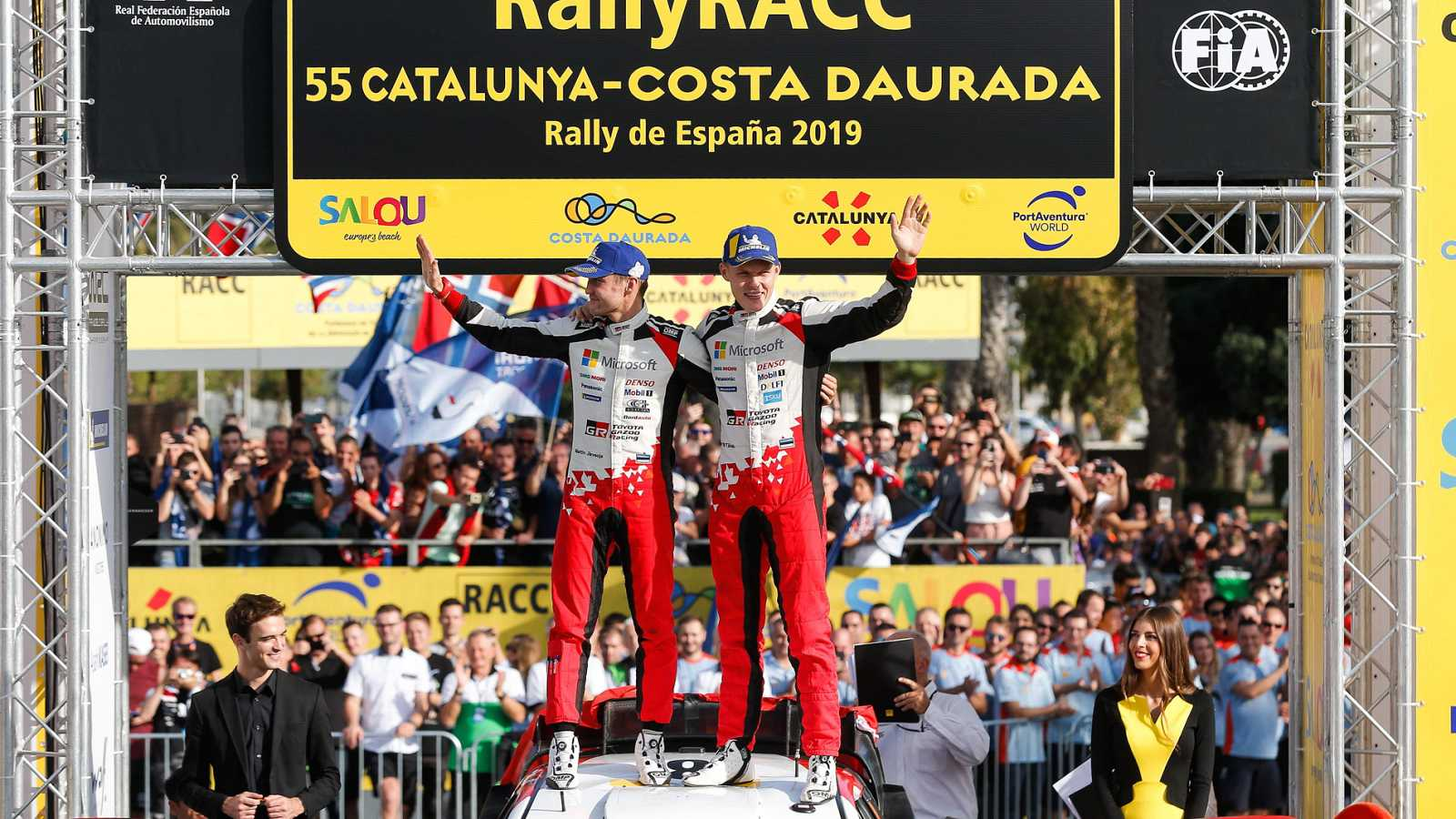 El estonio Tanak pone fin al reinado francés en el campeonato del mundo de rallies