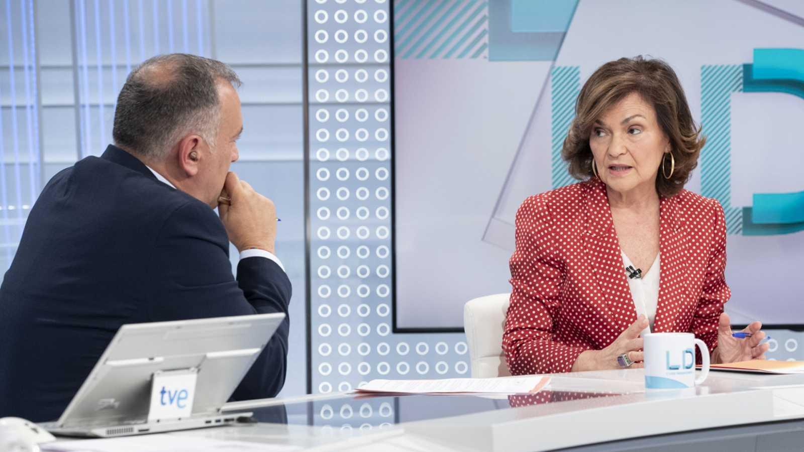 Los desayunos de TVE - Carmen Calvo, Vicepresidenta del Gobierno en funciones - ver ahora