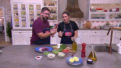 Hacer de comer - Cangrejos en salsa y frito de pulpo mallorquín