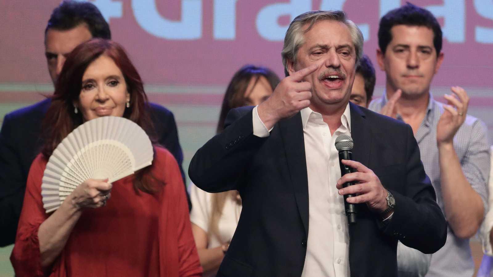El peronista Alberto Fernández gana las elecciones presidenciales en Argentina