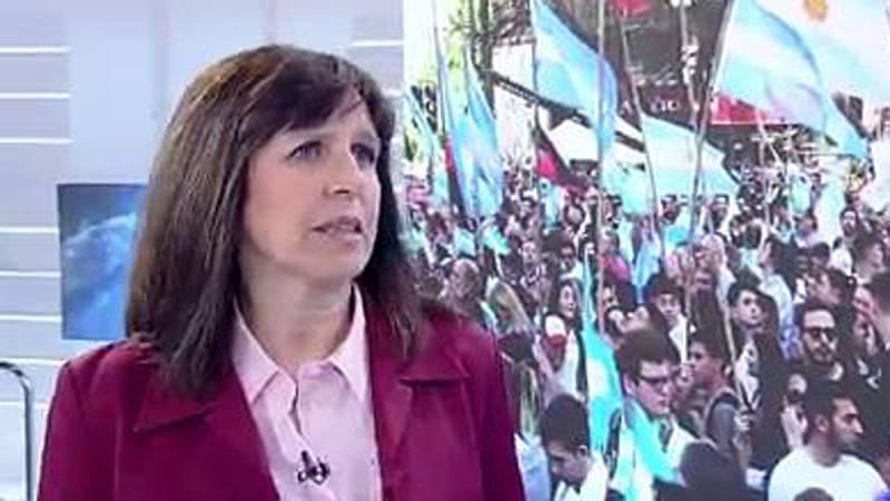 "Laura Tedesco (Saint Louis University): ""Alberto Fernández no va a ser un títere de Kirchner"""