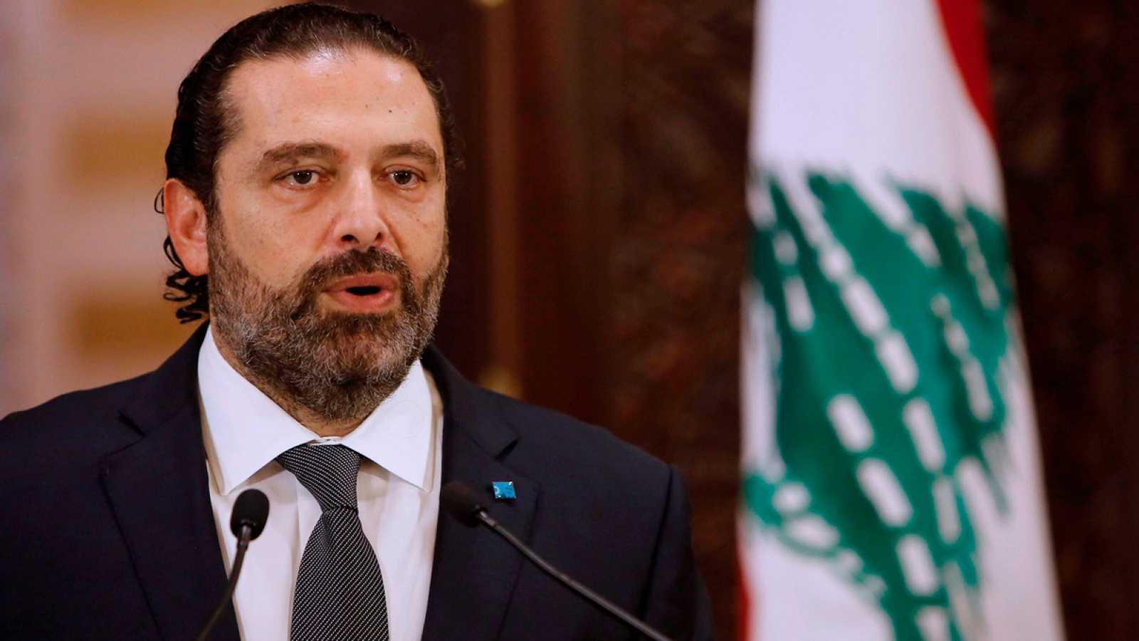 Dimite el primer ministro libanés, Saad Hariri