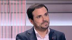 """Alberto Garzón: """"La fragmentación de la izquierda siempre perjudica porque tenemos un sistema electoral injusto"""""""