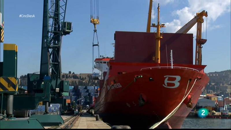 Cinc dies a...  descobreix el Port de Barcelona en la segona part del reportatge